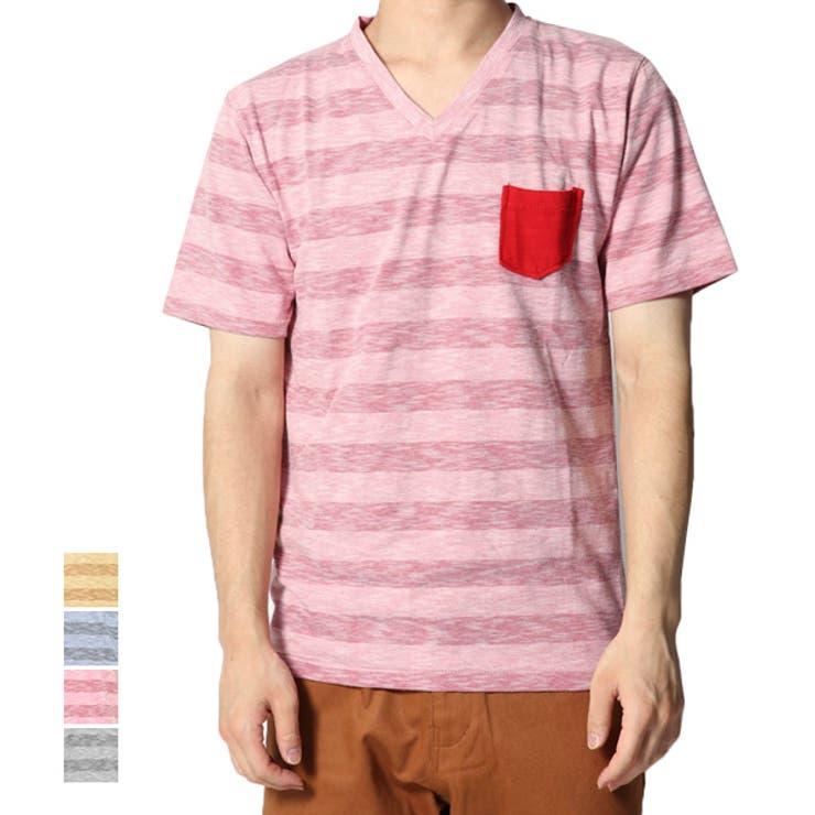 ボーダー Tシャツ カットソー | Style Block MEN | 詳細画像1