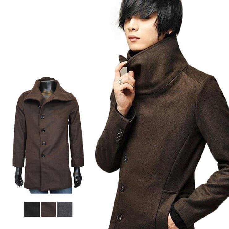 ロングコート トレンチコート Pコート   Style Block MEN   詳細画像1