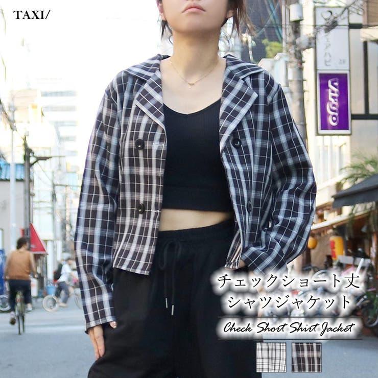 チェックショート丈ジャケット | TAXI  | 詳細画像1