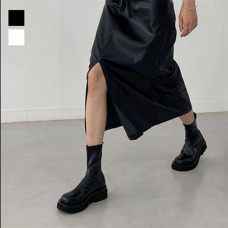 秋冬 韓国ファッションショートブーツ ブーツ | SUGAR BISKET | 詳細画像1