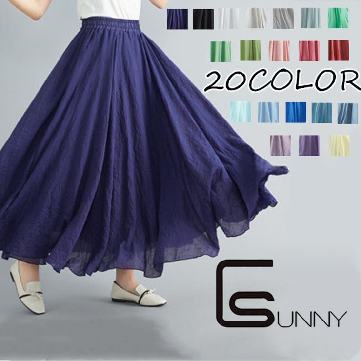 SUNNY-SHOPのスカート/フレアスカート   詳細画像
