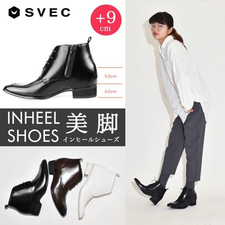 シークレットブーツ シークレットシューズ 9cmアップ | SVEC WOMEN | 詳細画像1