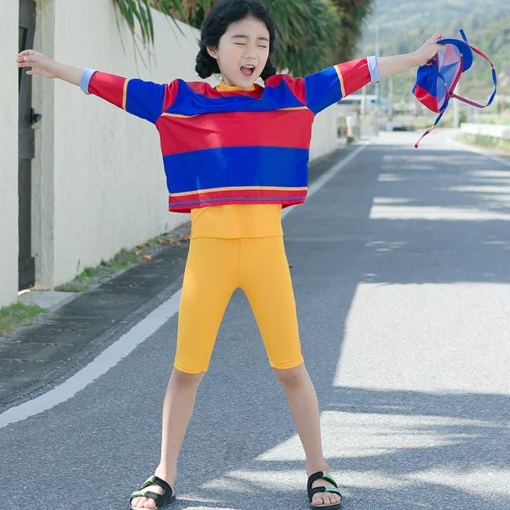 マルチカラースイムウェア 子供服 子供服男の子 | I Love J | 詳細画像1