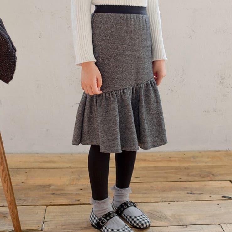 ギャザー切替スカート一体型レギンス 子供服 子供服男の子   I Love J   詳細画像1