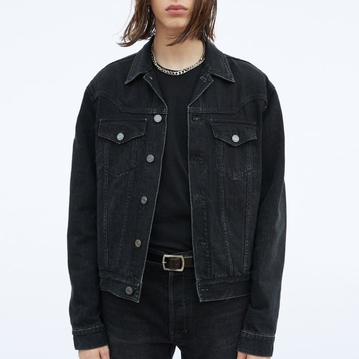 シンプルデニムジャケット 韓国ファッション 韓国オシャレ | K-Street | 詳細画像1
