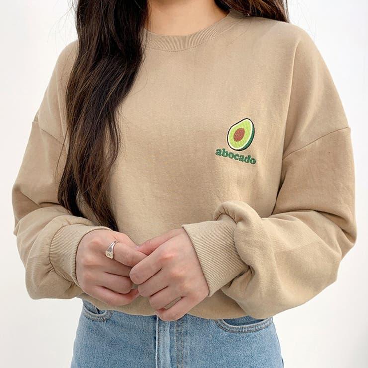 ローゲージざっくりラウンドニット 韓国ファッション 韓国オシャレ | Bullang girls | 詳細画像1
