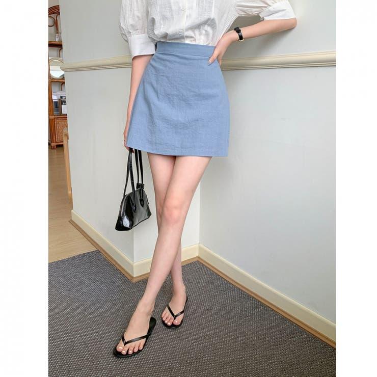 ベーシックミニスカパン 韓国ファッション 韓国オシャレ | MERONGSHOP | 詳細画像1