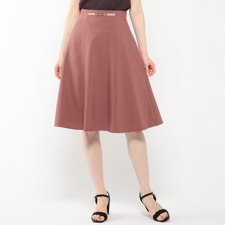 ビット付きカラースカート | MISCH MASCH | 詳細画像1