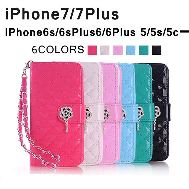 iPhone7ケース iPhone7 Plus iPhone6s iPhone6s Plus iPhone6 iPhone6 PlusiPhone SE iPhone5s iPhone5 iPhone5c 手帳型スマホケース アイフォン7 アイフォン7プラス カバーかわいい 花 チェーン ストラップ付き カードホルダー スタンド機能 おしゃれ 女子
