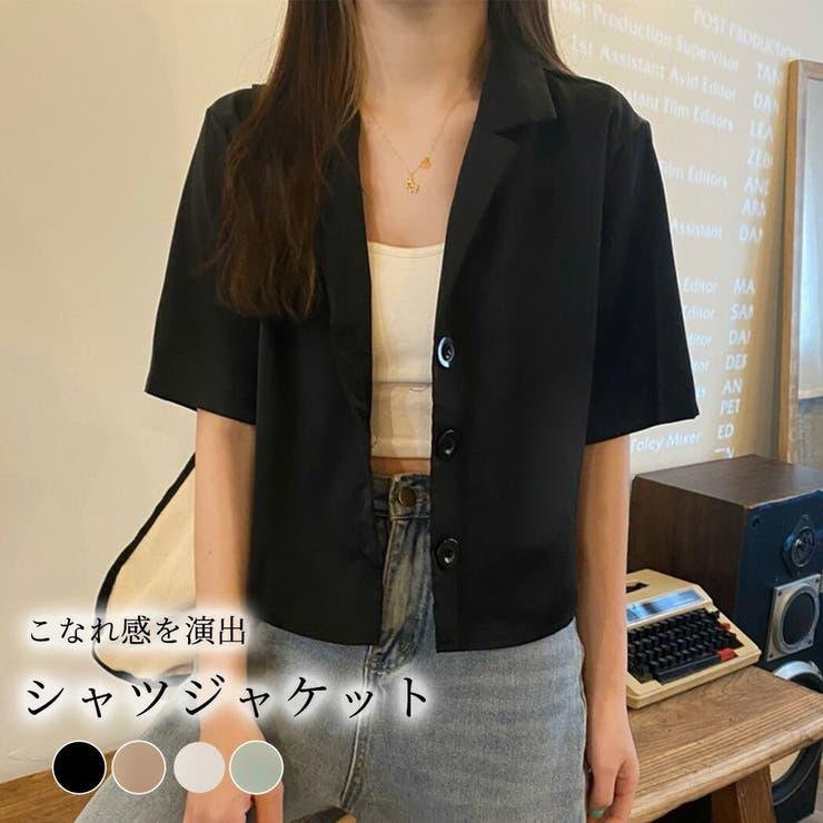 シャツジャケット レディース 韓国ファッション | teddyshop | 詳細画像1