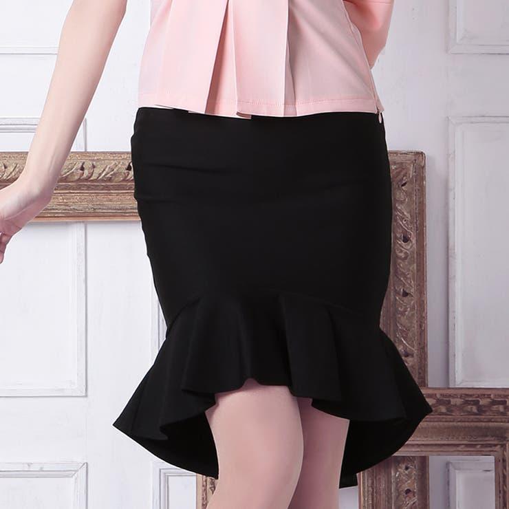 Tika ティカ マーメイドミニスカート 黒 ブラック Mサイズ キャバ スカート ドレス キャバドレス ナイトドレスパーティードレス 結婚式 二次会