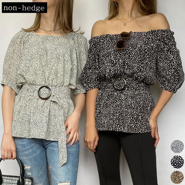 2WAYベルト付きブラウス レディース ファッション | non-hedge  | 詳細画像1