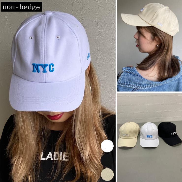 NYCロゴCAP レディース ファッション   non-hedge    詳細画像1