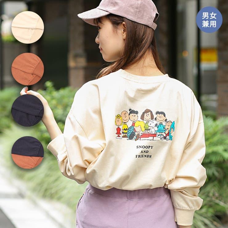 スヌーピーフレンズバックプリントロングTシャツ kwjca300 チチカカ | チチカカ | 詳細画像1