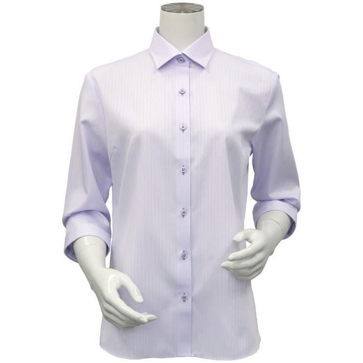 レディース ウィメンズシャツ 七分袖 | TOKYO SHIRTS | 詳細画像1