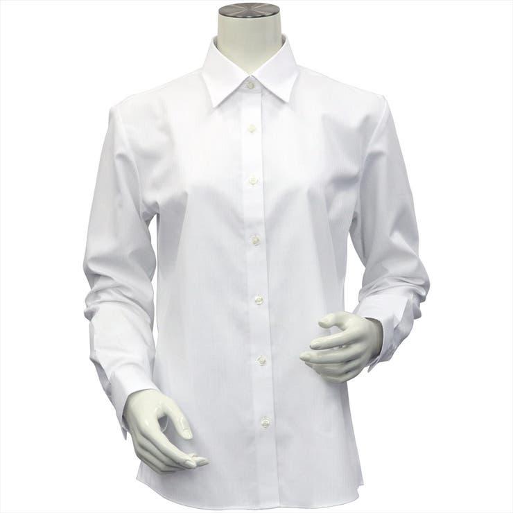 【透け防止】 形態安定 レギュラー衿 長袖ビジネスシャツ | TOKYO SHIRTS | 詳細画像1