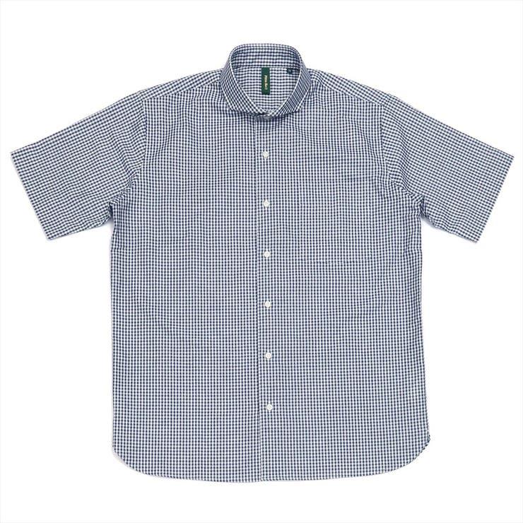 ワイシャツ 半袖 形態安定   TOKYO SHIRTS   詳細画像1