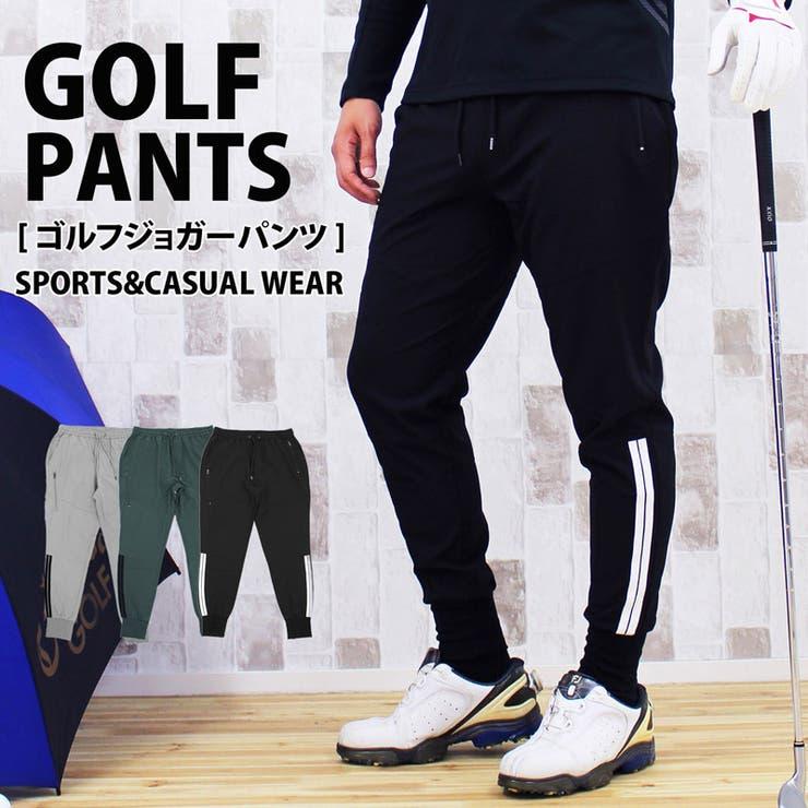 ゴルフパンツ メンズ ゴルフウェア   TopIsm   詳細画像1