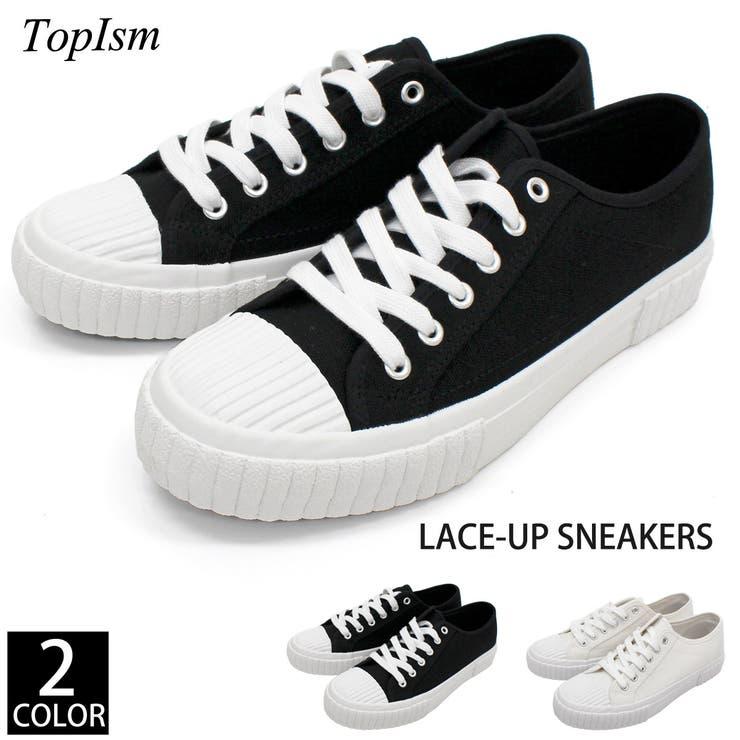 キャンバス スニーカー メンズ | TopIsm | 詳細画像1