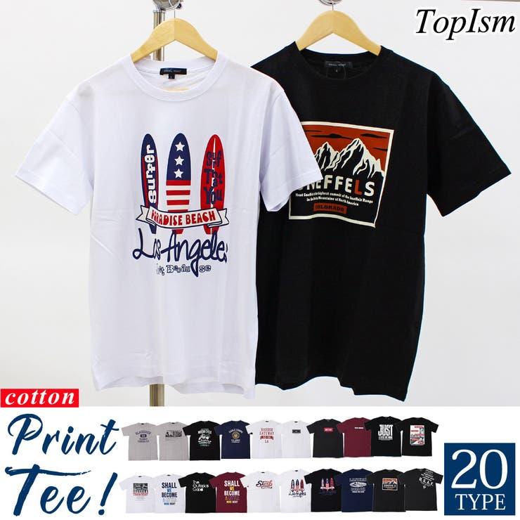 Tシャツ メンズ 半袖   TopIsm   詳細画像1