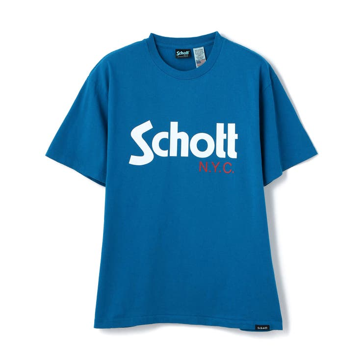 BASIC LOGO T-SHIRT/ベーシックロゴTシャツ   Schott   詳細画像1