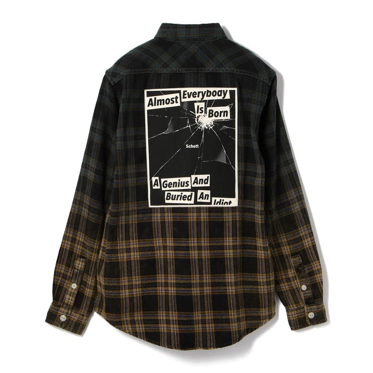PLAID WORK SHIRT/プレイド ワークシャツ | Schott | 詳細画像1