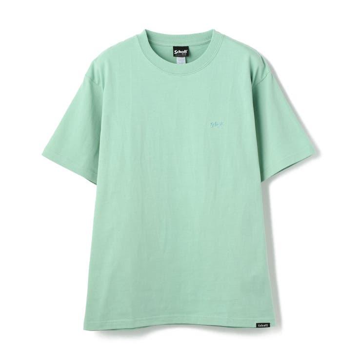 ONE POINT T-SHIRT/ワンポイント Tシャツ | Schott | 詳細画像1