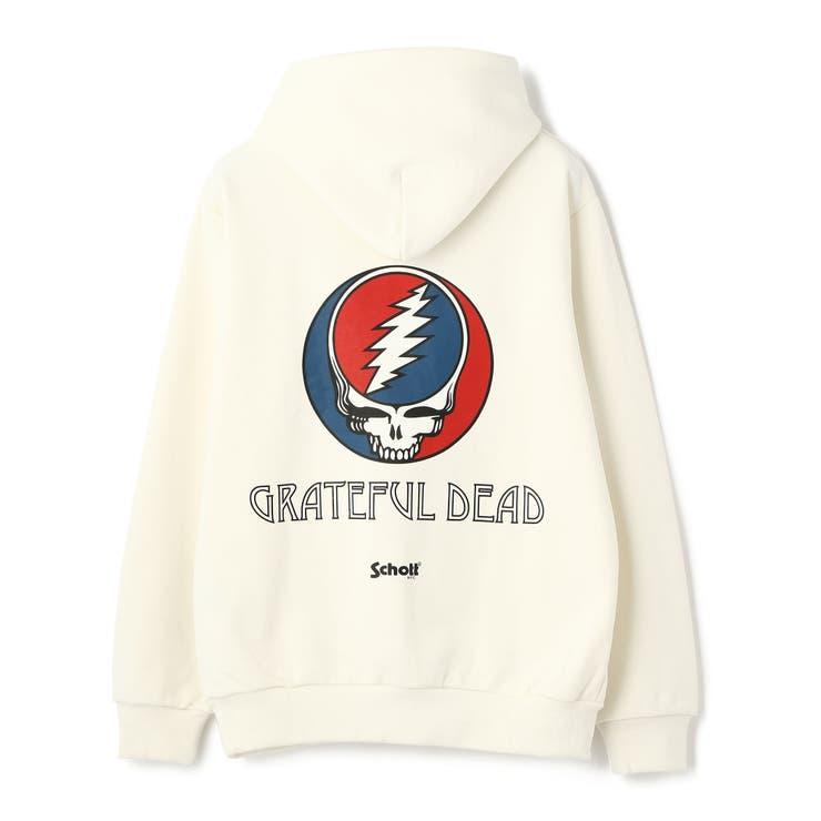 ×GRATEFUL DEAD HOODIE/×グレイトフルデッド フーディー | Schott | 詳細画像1