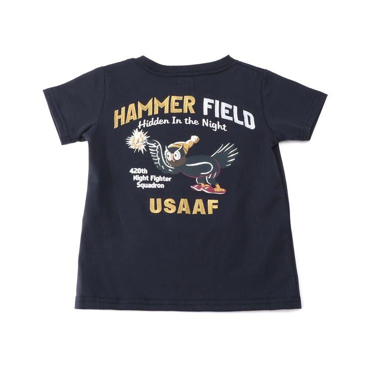 刺繍Tシャツ ハマーフィールド EMBROIDERED | AVIREX | 詳細画像1