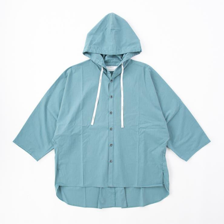 OURET (オーレット) フーディポンチョシャツ | B'2nd | 詳細画像1