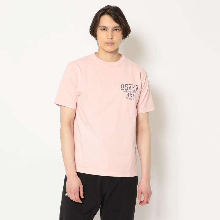 フェイドウォッシュ Tシャツ エアマンシップ   AVIREX   詳細画像1