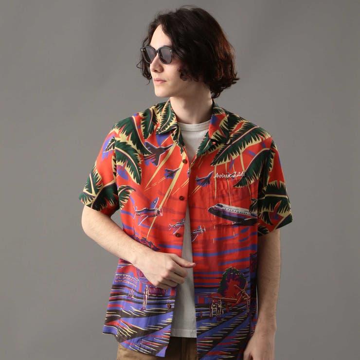 アロハシャツ アロハガール ALOHA | AVIREX | 詳細画像1
