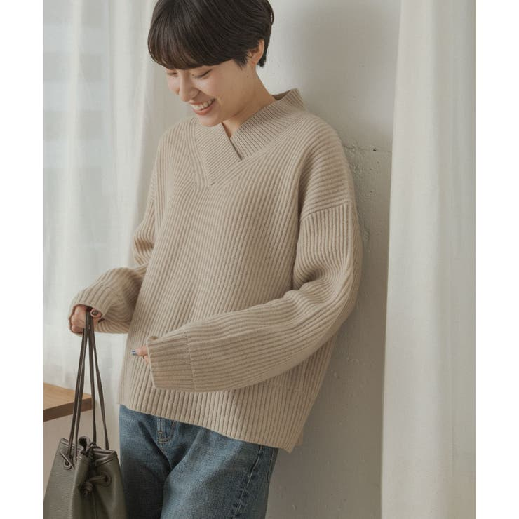FORK&SPOON Pure Woolニット | URBAN RESEARCH OUTLET  | 詳細画像1