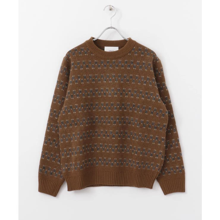 UNIFY Jacquard Knit Pullover | URBAN RESEARCH OUTLET  | 詳細画像1