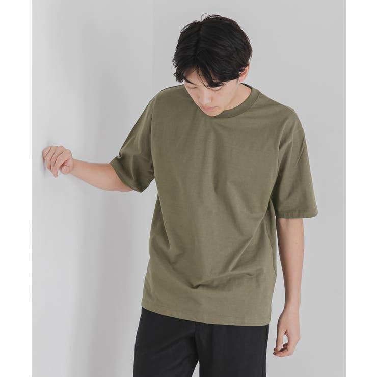 ヘビーウエイトTシャツ(5分袖)   SENSE OF PLACE   詳細画像1