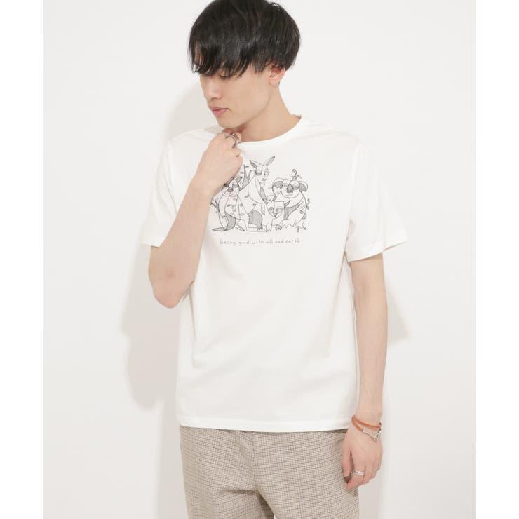 オーストラリアチャリティーTシャツ(5分袖) | SENSE OF PLACE | 詳細画像1