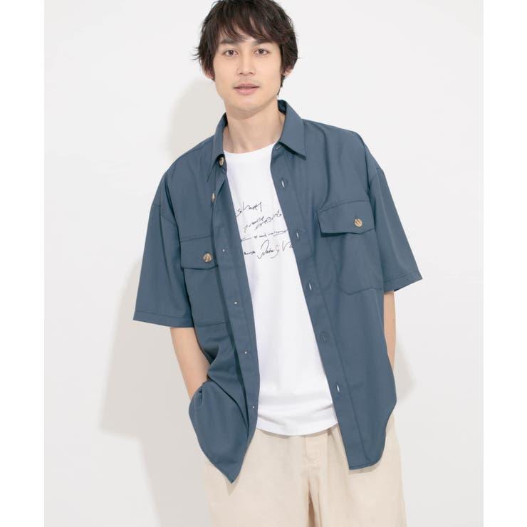 CPOシャツ(5分袖) | SENSE OF PLACE | 詳細画像1
