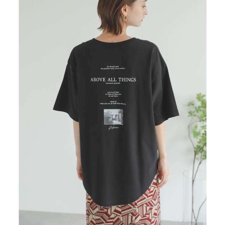 メッセージロゴアートTシャツ | SENSE OF PLACE  | 詳細画像1