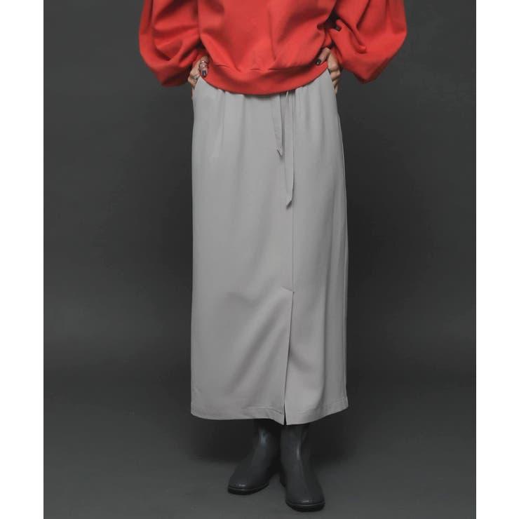 【Tallサイズ/WEB限定】ジョーゼットハイウエストラップスカート   SENSE OF PLACE    詳細画像1