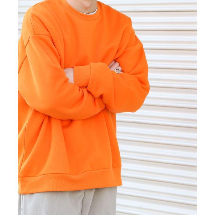 【XLサイズWEB/一部店舗限定】ウラキモウカラースウェットシャツ   SENSE OF PLACE   詳細画像1