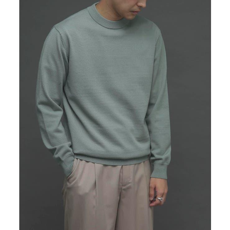 ストレッチクルーネックセーター   SENSE OF PLACE   詳細画像1