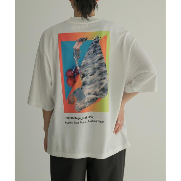 Uiscel 【別注】アートグラフィックTシャツA   SENSE OF PLACE   詳細画像1