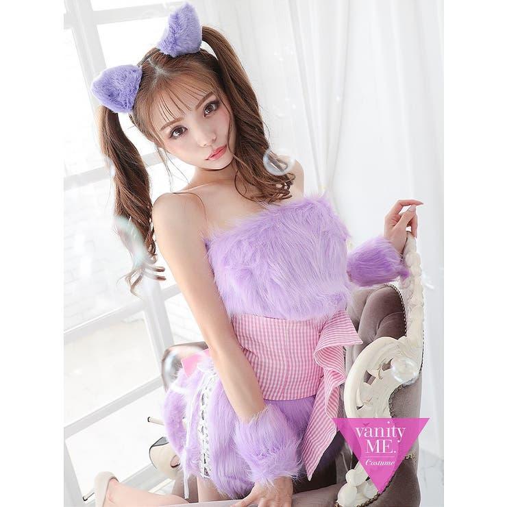 lolly cat Lavenderパールウエストベルト付きvcscd | vanityME.   | 詳細画像1