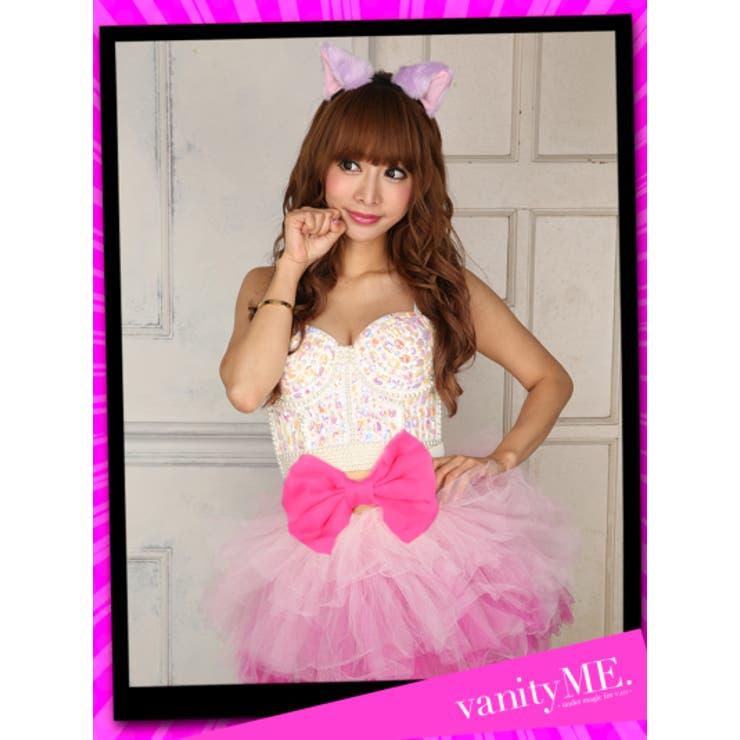 オーロラ&パープル×ピンク猫ちゃんコーデ チシャ猫風 | vanityME.   | 詳細画像1