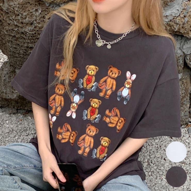 Tシャツ,チュニック,ロング丈スキッパー | 詳細画像