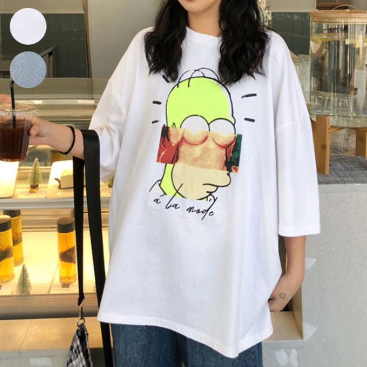 Tシャツ,チュニック,ロング丈スキッパー   詳細画像
