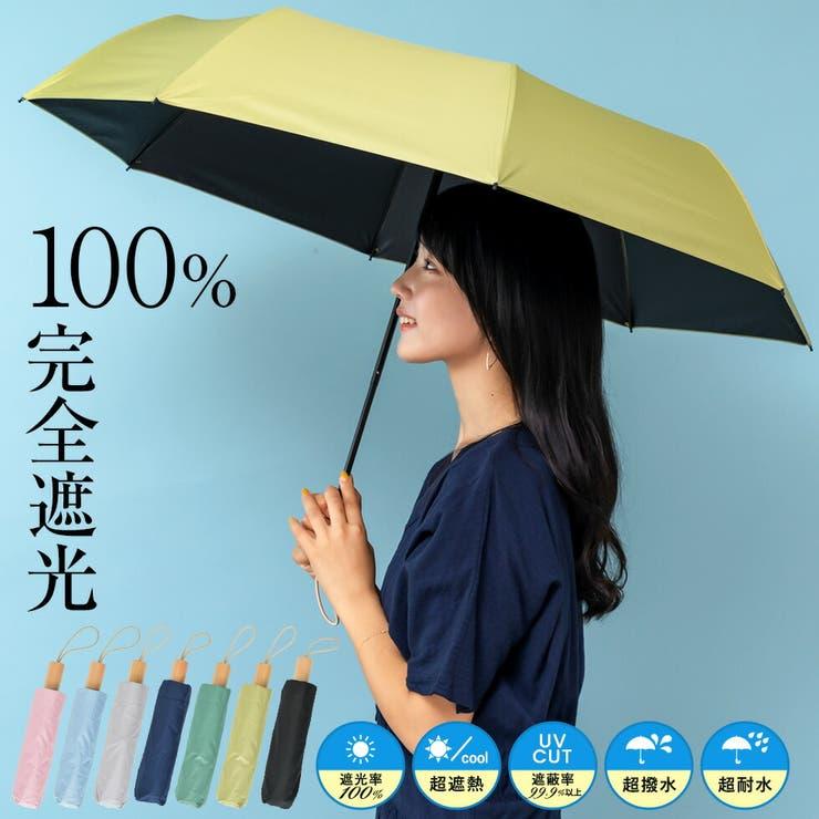 折りたたみ日傘(木持ち手/親骨55cm) | Vita Felice | 詳細画像1