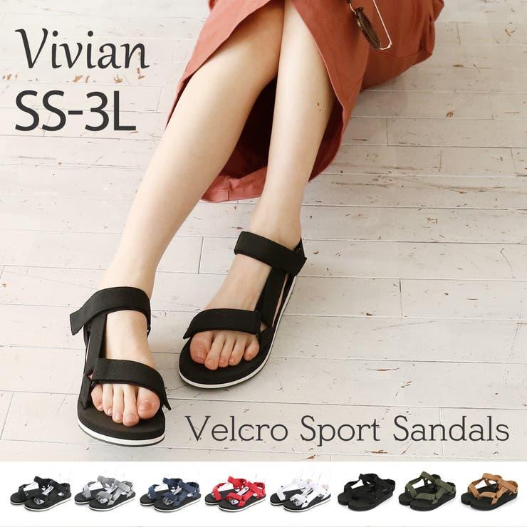 Vivian ヴィヴィアン サンダル   VIVIAN Collection    詳細画像1