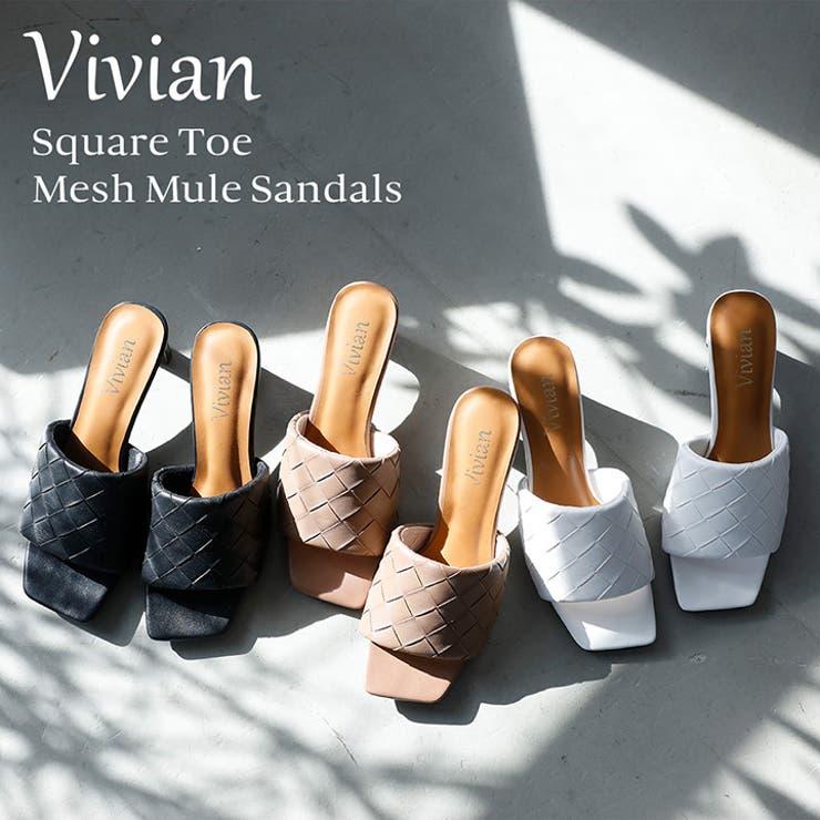 Vivian サンダル レディース | VIVIAN Collection  | 詳細画像1