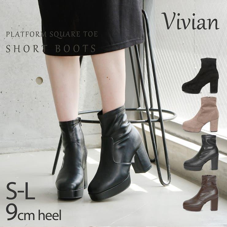 Vivian ショートブーツ ブーツ | VIVIAN Collection  | 詳細画像1